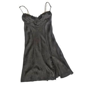 Victoria's Secret 100% Silk Slip Lingerie w/ Slit